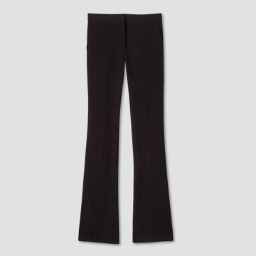 Black Twill Flared Trousers Victoria Beckham Target Line