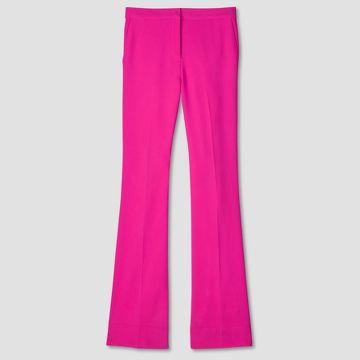 Fuschia Twill Flared Trousers Victoria Beckham Target Line.jpg